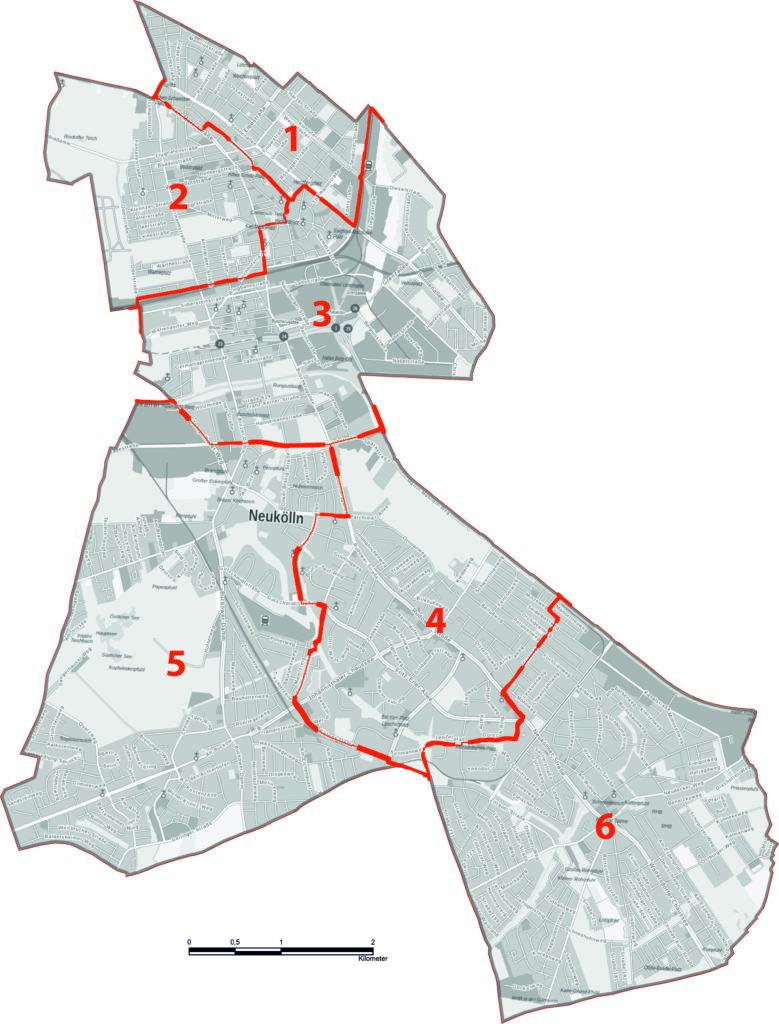 Wahlkreise BVV und AGH 2021