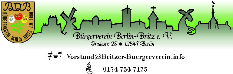 Bürgerverein Berlin-Britz e. V.